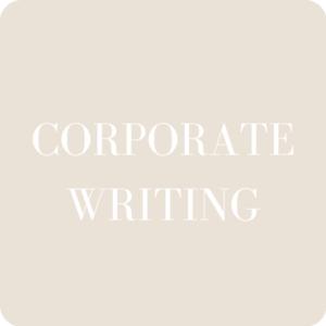 BEST CORPORATE WRITING